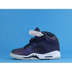 "Air Jordan 5 WMNS ""Oil Grey"" Purple Gray CD2722-001 40-46"