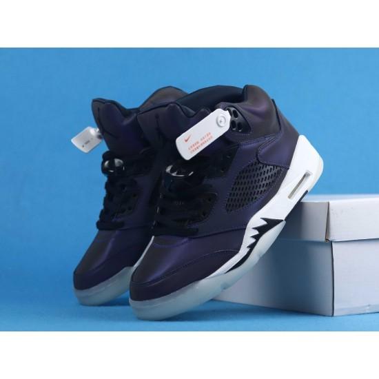 Air Jordan 5 WMNS Oil Grey Purple Gray CD2722-001 40-46