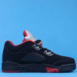 "Air Jordan 5 Low ""Alternate 90"" Black Red 819171-001 40-46"