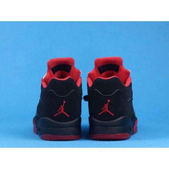 Air Jordan 5 Low Alternate 90 Black Red 819171-001 40-46