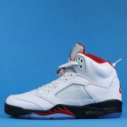 "Air Jordan 5 ""Fire Red"" White Red DA1911-102 36-46"