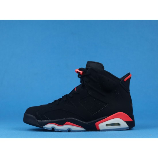 Air Jordan 6 Infrared Black Red 384664-060 40-46