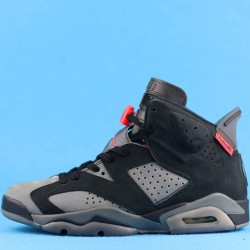 "PSG x Air Jordan 6 ""Iron Grey"" Black Gray Red CK1229-001 40-46"