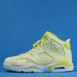 """Air Jordan 6 GS """"Floral"""" Yellow 543390-800 36-40"""